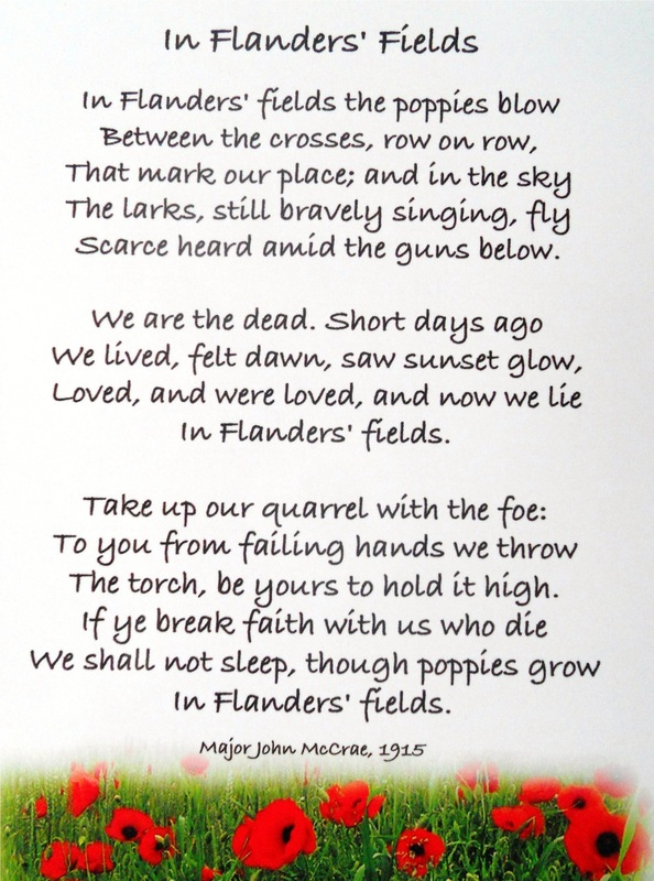 Remembrance Day poetry - Ms  Gorny's Classroom